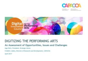 Digitizing the Performing Art